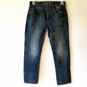 American Eagle Slim Straight Denim Jeans 30x32